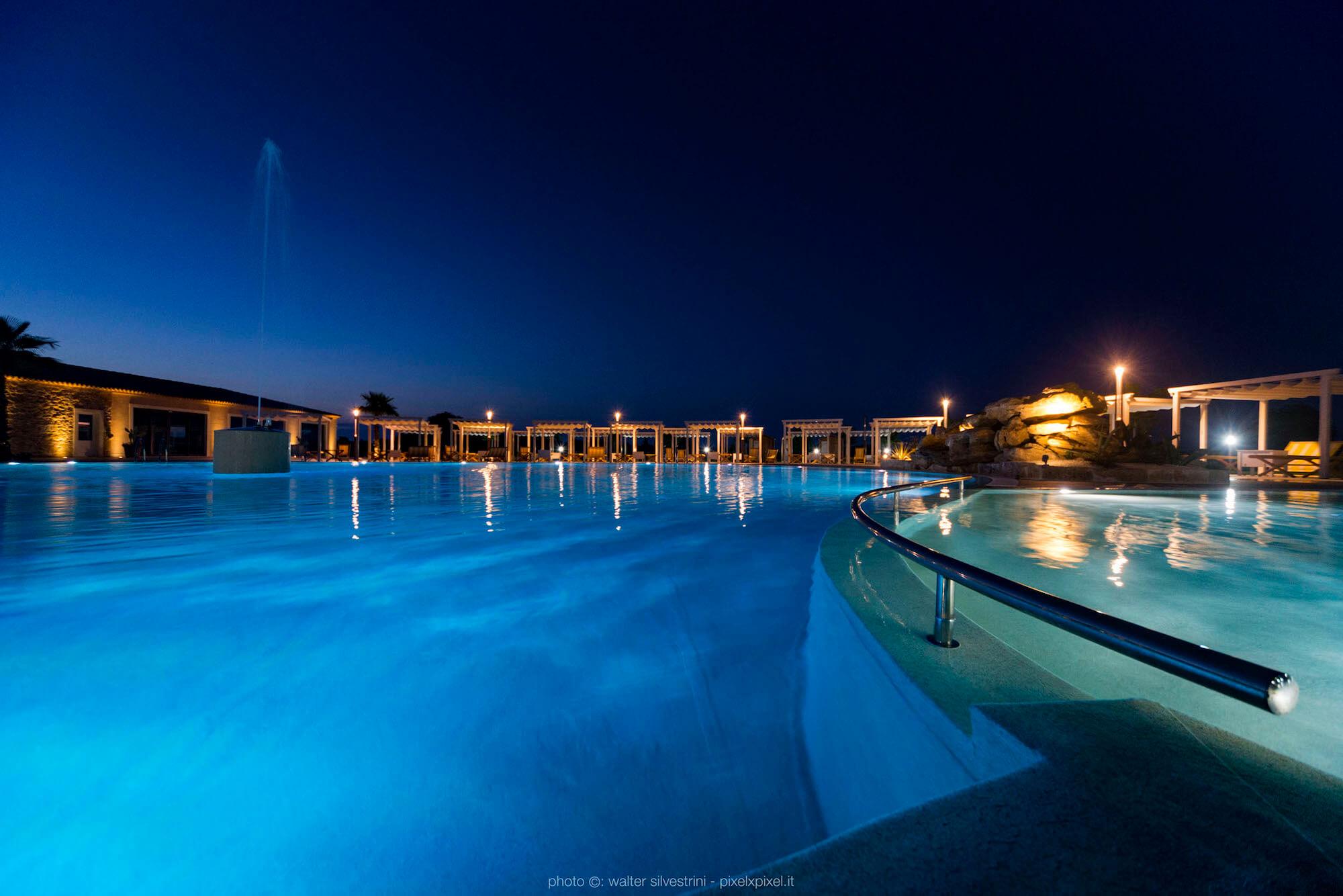 Piscina Solarium Hotel Siracusa Casale Milocca