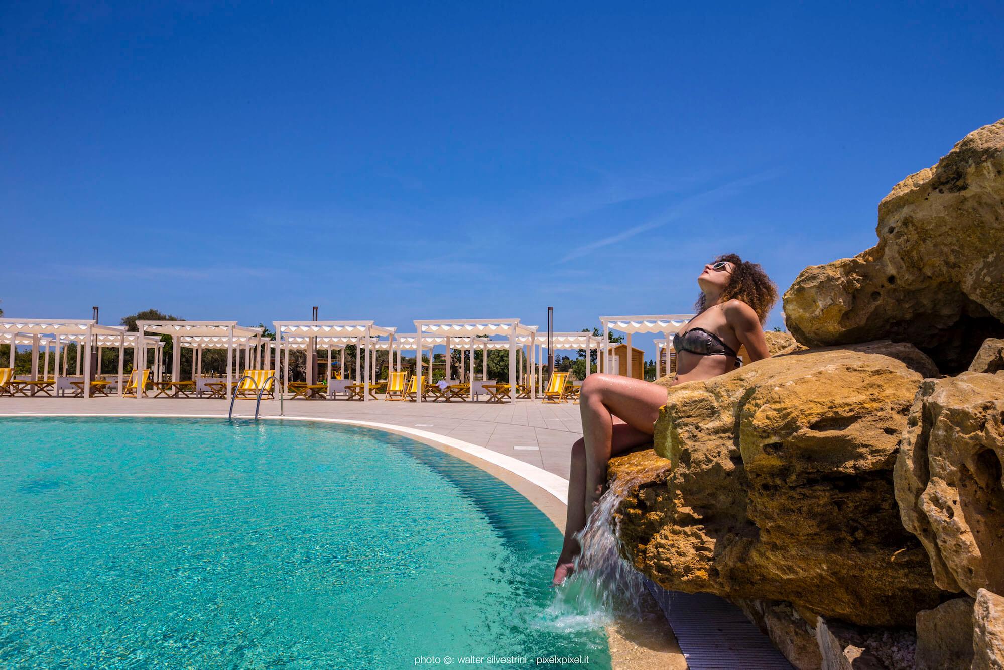 Piscina, solarium, event, casale milocca hotel siracusa